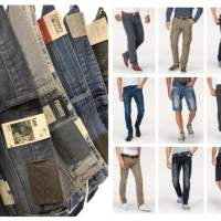 Men Jeans Pants Mix Replay Tommy Hilfiger Lee Tom Tailor etc Remaining brand jeans